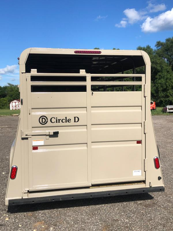 2020 Circle D 6X16 Livestock Trailer