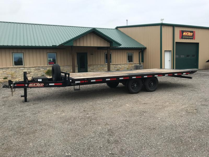 2020 MAXXD TOX 102x22 Power Tilt Equipment Trailer