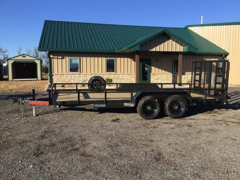 2021 MAXXD U4X Equipment Trailer