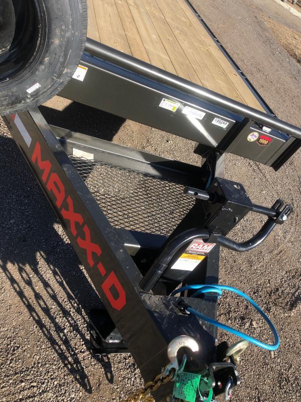 2021 MAXXD C8X Equipment Trailer
