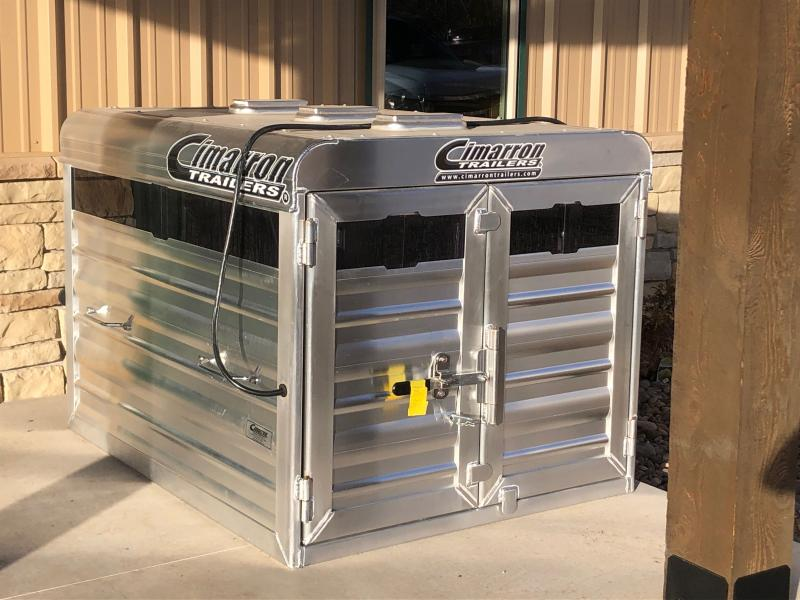 2021 Cimarron Trailers Stock Box Livestock