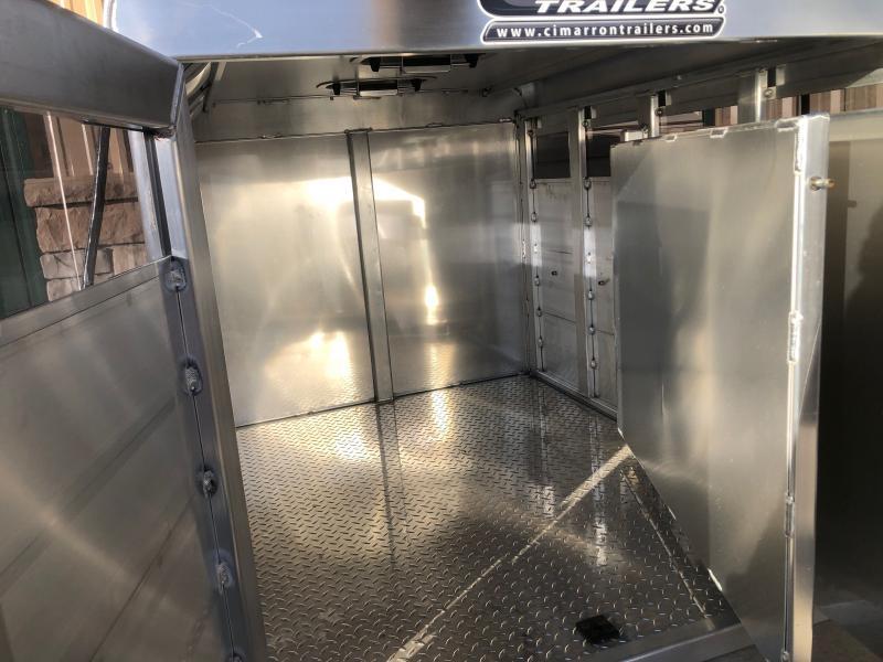 2021 Cimarron Trailers Stock Box Livestock