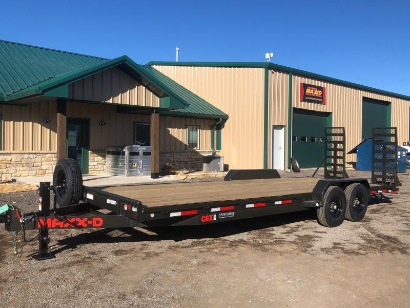 2021 MAXXD C6X Equipment Trailer