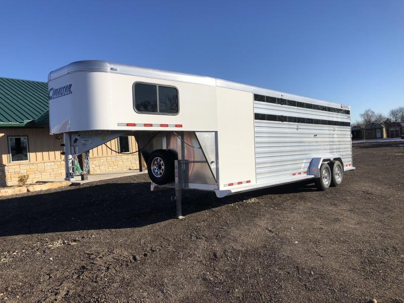 2020 Cimarron Trailers Lonestar Livestock Trailer