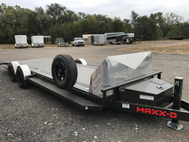 "2021 MAXXD A6X 80""x 24'Drop & Load Car / Racing Trailer"
