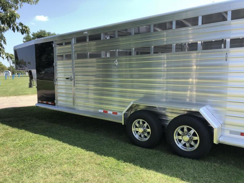 2020 Cimarron Trailers Lonestar 24' Stock/Combo Livestock Trailer