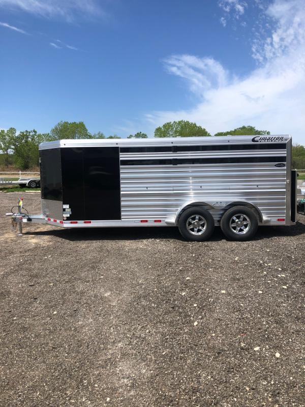 2020 Cimarron Trailers 6 Pen Showstar Livestock Trailer