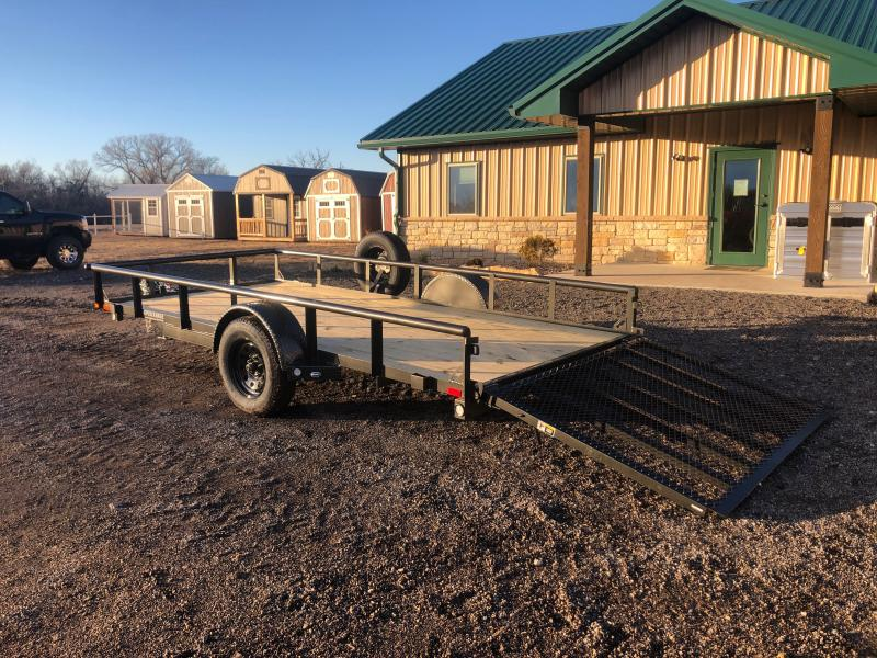 2021 MAXXD S3X 77X14 Utility Trailer (Will be sold on Auction Feb 5th Funds will go to support a mission in Haiti)