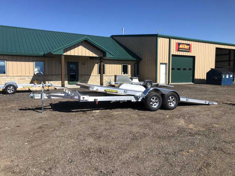 2021 Aluma 8220 H TILT Car / Racing Trailer