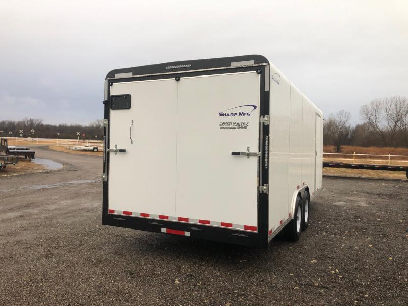 2021 Sharp 101x20 Enclosed Cargo Trailer