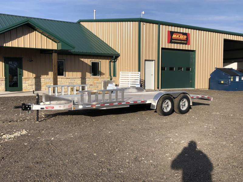 2019 Zimmerman AH83-20 Aluminum Car Hauler Car / Racing Trailer