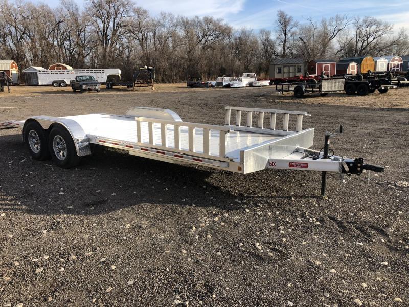 2019 Zimmerman AH83-20 Aluminum Car Hauler Car / Racing Trailer