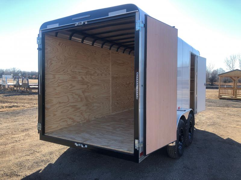 2021 Sharp 7x16 Enclosed Cargo Trailer