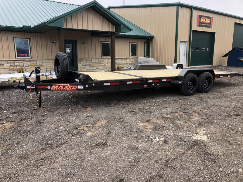 2020 MAXXD G8X Gravity Tilt Equipment Trailer