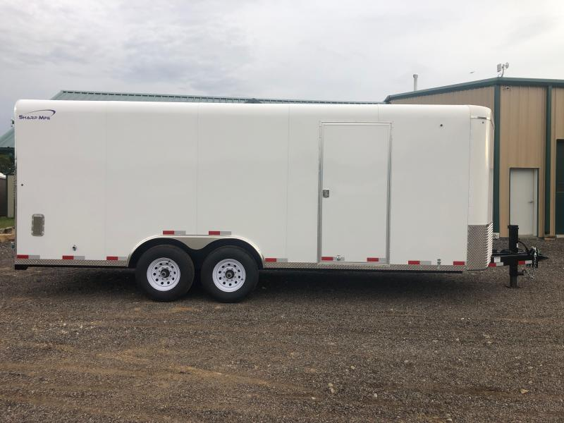 2021 Sharp 101X20 Enclosed Cargo Trailer