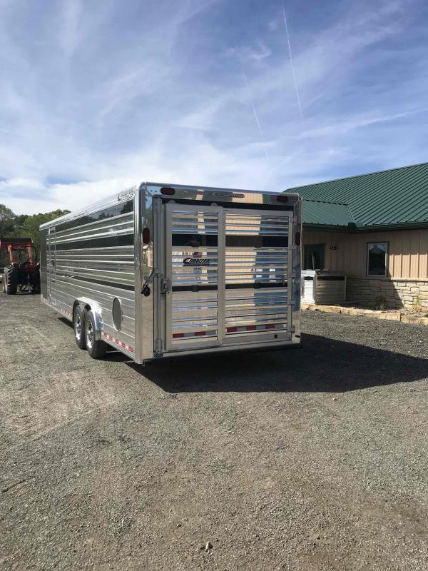 2021 Cimarron Trailers Stierwalt Livestock Trailer