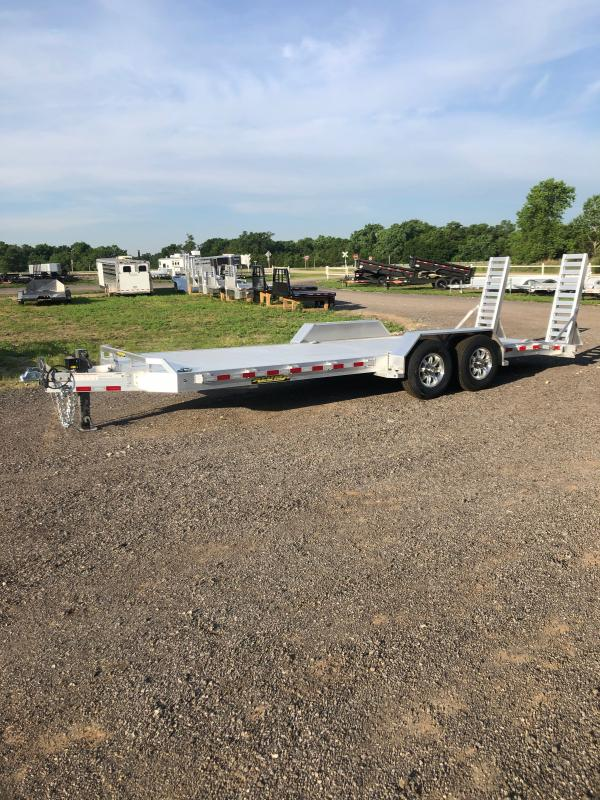 "2021 Aluma 82""x22' Equipment Trailer"