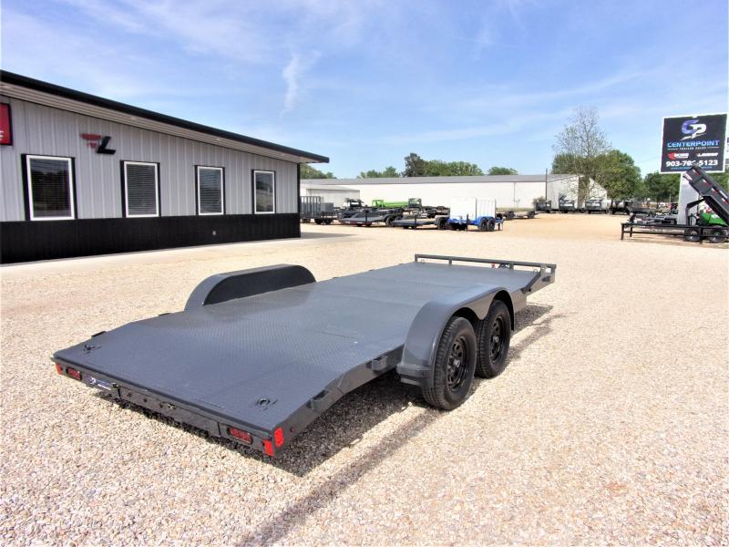 2021 Lamar Trailers 83''x18 Bumper Pull Car Hauler GVWR 7K