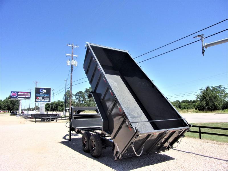 2021 Lamar Trailers 83 x 16 Low Pro Gooseneck Dump Trailer GVWR 16K