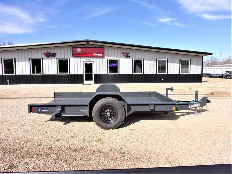 2021 Lamar Trailers 79x12 Scissor Lift Tilt Trailer GVWR 7K