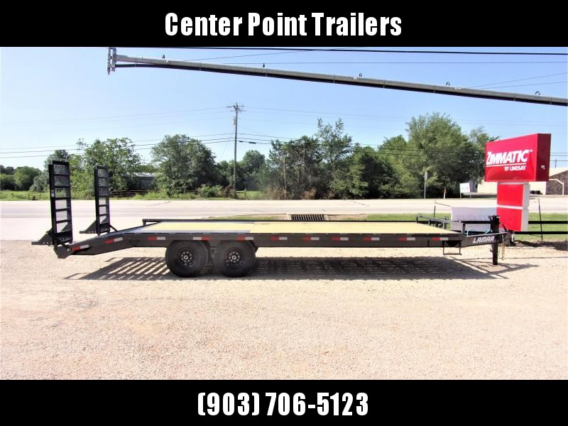 "2021 Lamar Trailers 102"" X 24' BP Deck-Over Flatbed GVWR 14K"