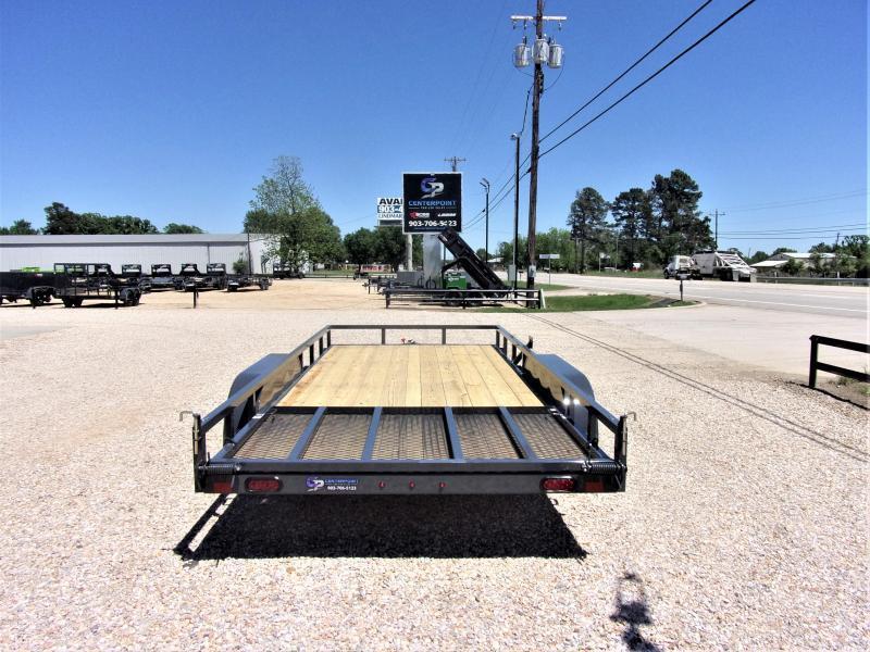 2021 Lamar Tandem Axle Commercial Utility Trailer 83 X 18 GVWR 7K