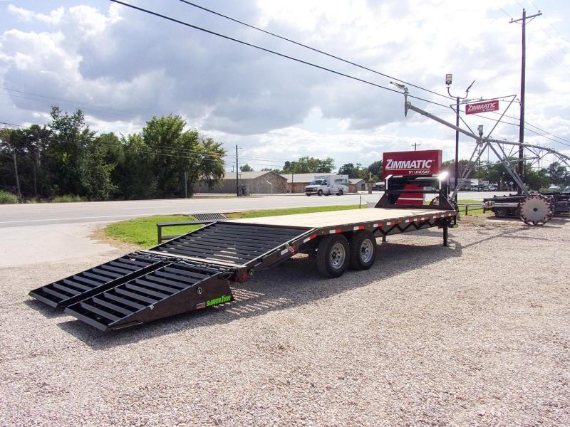 """2022 Load Trail 102"""" X 25' Gooseneck Deck Over Flatbed Trailer GVWR 14K"""