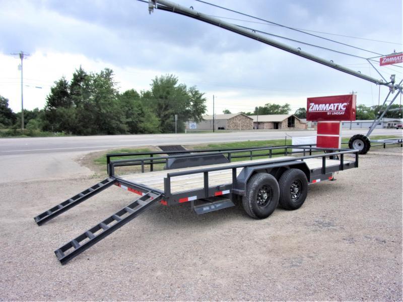 2020 Lamar Trailers 83 X 18 XD Utility Trailer GVWR 14000