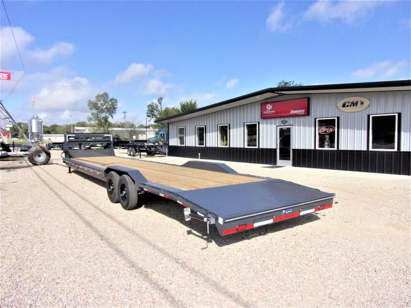 2021 Lamar 102 x 38' HD GOOSENECK LOWBOY / CAR HAULER GVWR 14K