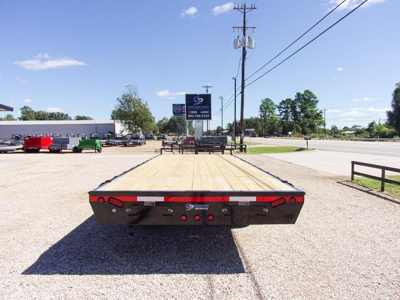"2022 Load Trail 102"" x 22' BP Deck Over 14K Flatbed Trailer"