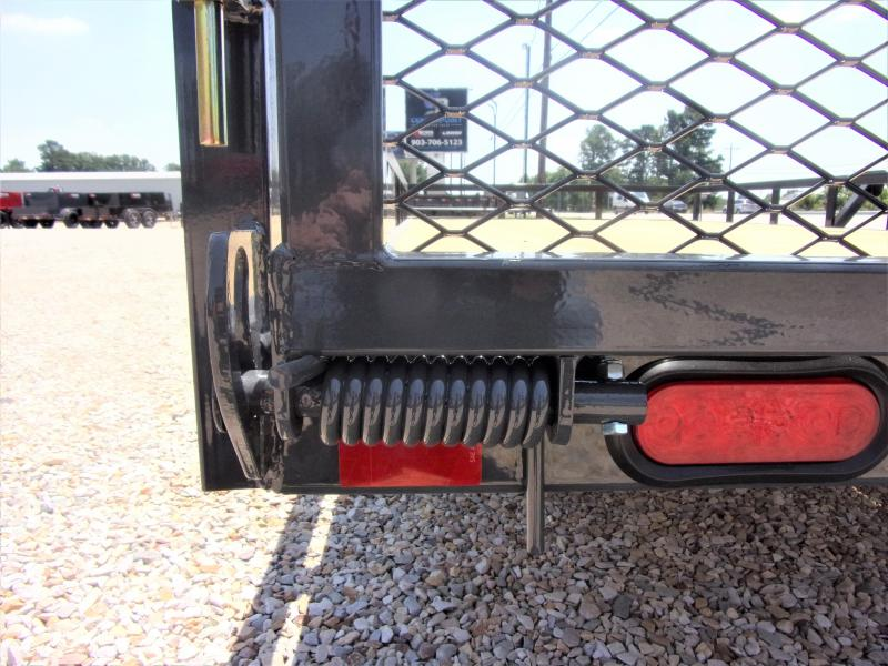 2021 Lamar Single Axle Commercial Utility Trailer 83 X 14 GVWR 3K