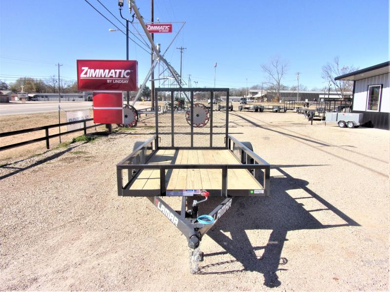 2021 Lamar Trailers 60x10 Single Axle Utility GVWR 2990 Utility Trailer