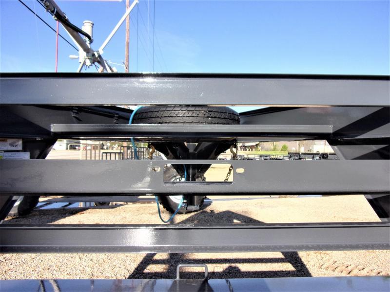 "2021 LAMAR 102"" X 40' HD GOOSENECK LOWBOY / CAR HAULER GVWR 14K"