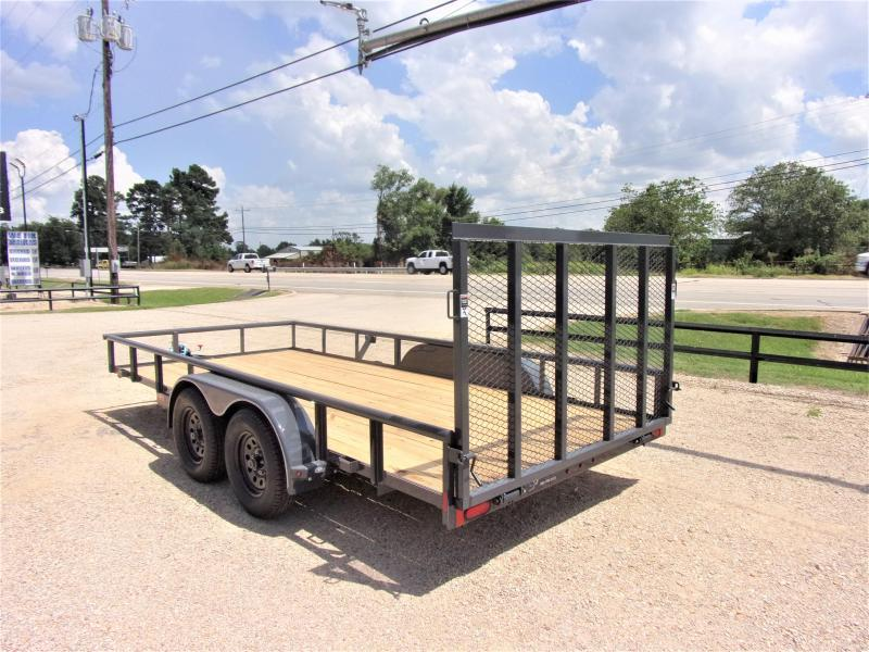 2021 Lamar Tandem Axle Utility Trailer 83 X 16 GVWR 7K
