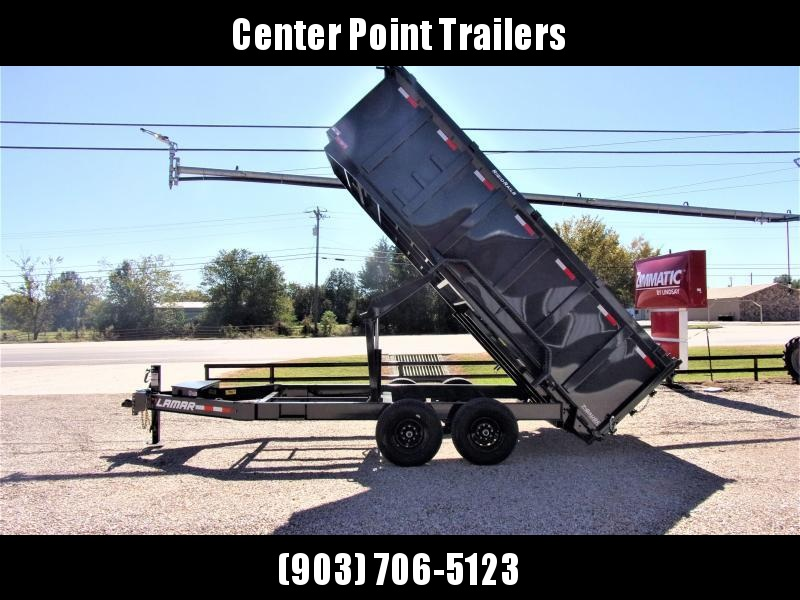 2021 Lamar Trailers 83 x 16' Low Pro Dump Trailer GVWR 14K
