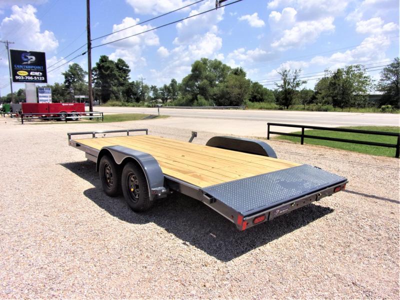 2021 Lamar Trailers 83''x18 Bumper Pull Econo Car Hauler GVWR 7K