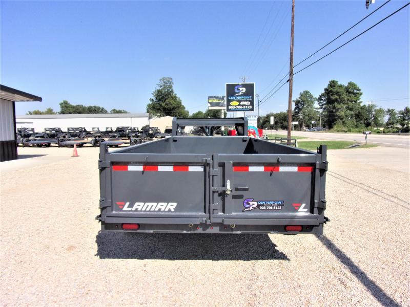 2021 Lamar Trailers 83 x 16 Low Pro Gooseneck Dump Trailer GVWR 14K