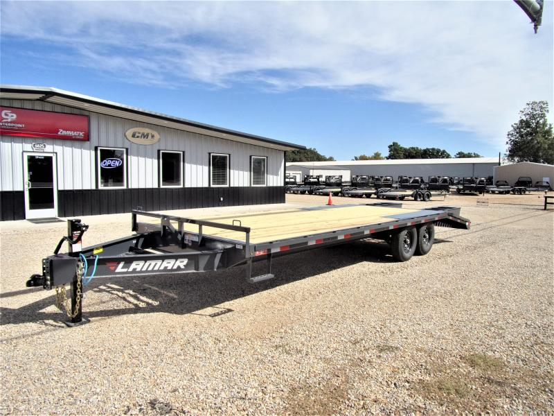 "2020 Lamar Trailers 102"" X 24' BP Deck-Over Flatbed GVWR 14K"