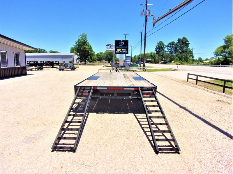 "2020 Lamar Trailers 102"" X 22' BP Deck-Over Flatbed GVWR 14K"