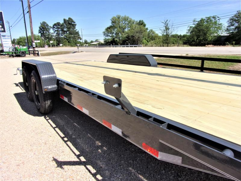 "2021 Lamar Trailers 83"" X 22' Bumper Pull Equipment Hauler GVWR 14K"