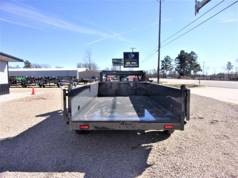 2021 Lamar Trailers 83 x 12 Low Pro Gooseneck Dump Trailer GVWR 14K