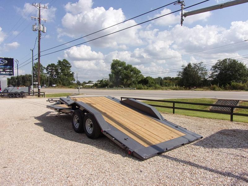 "2022 Load Trail 102"" x 22' Tilt Deck Equipment Trailer GVWR 14K"