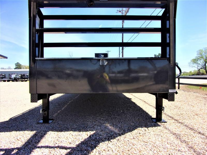 "2021 LAMAR 102"" X 30' HD GOOSENECK LOWBOY / CAR HAULER GVWR 14K"