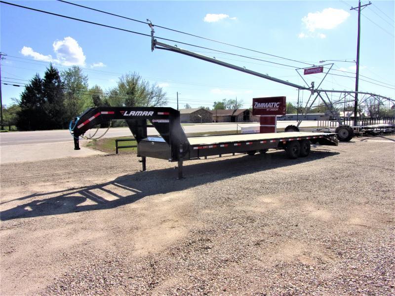 "2021 Lamar 102"" X 30' Gooseneck Deck Over GVWR 14K"
