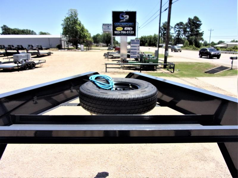 2020 Lamar 102 x 40' HD GOOSENECK LOWBOY / CAR HAULER GVWR 14K