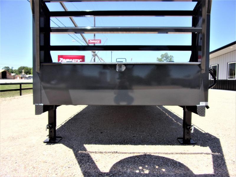 2021 Lamar 102 x 40' HD GOOSENECK LOWBOY / CAR HAULER GVWR 14K