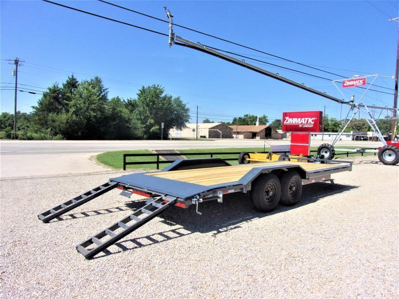 "2020 LAMAR 102"" X 22' EQUIPMENT HAULER GVWR 14K"