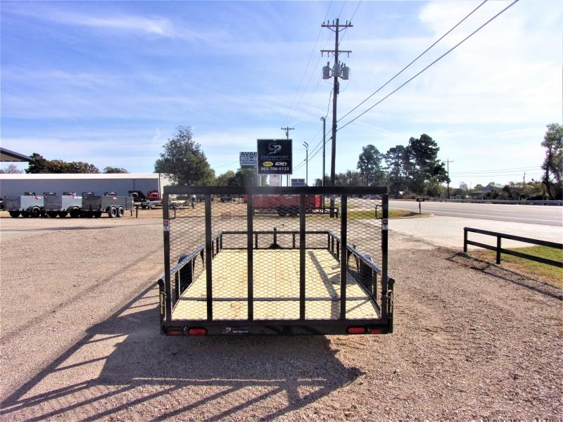 2021 Lamar Trailers 83x14 Single Axle Utility GVWR 2990 Utility Trailer