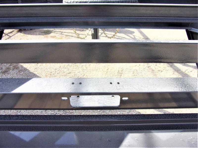 "2021 LAMAR 102"" X 24' HD GOOSENECK LOWBOY / CAR HAULER GVWR 14K"