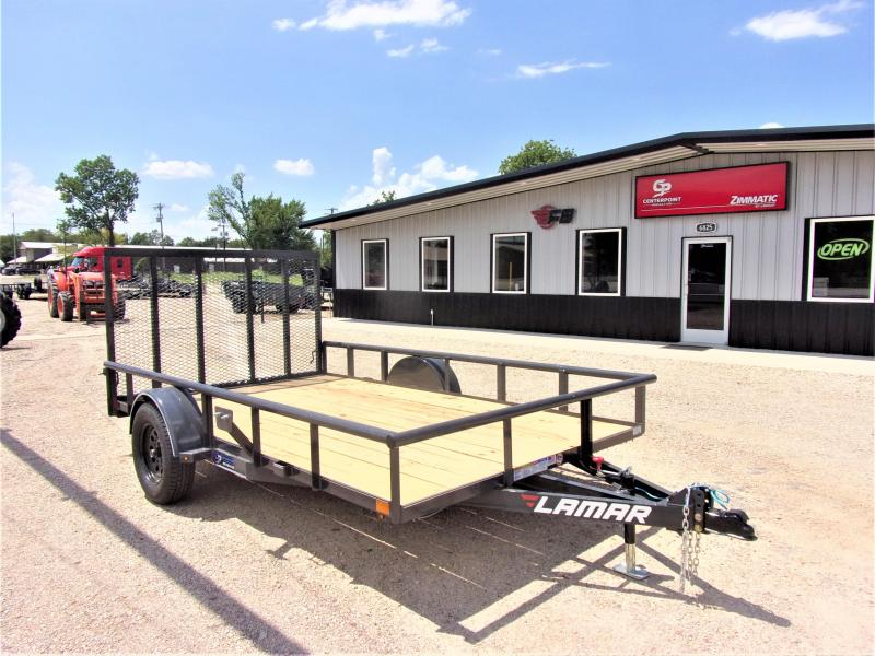 2021 Lamar Trailers 83x12 Single Axle Utility GVWR 2990